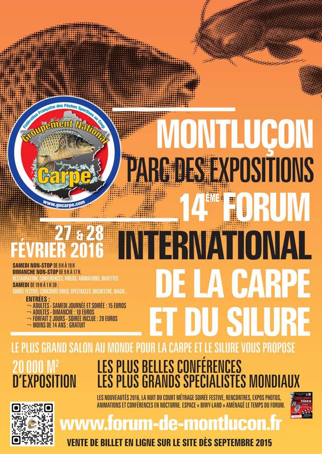 Le grand fontenay au forum de montlu on 2016 lac du for Salon carpe reims